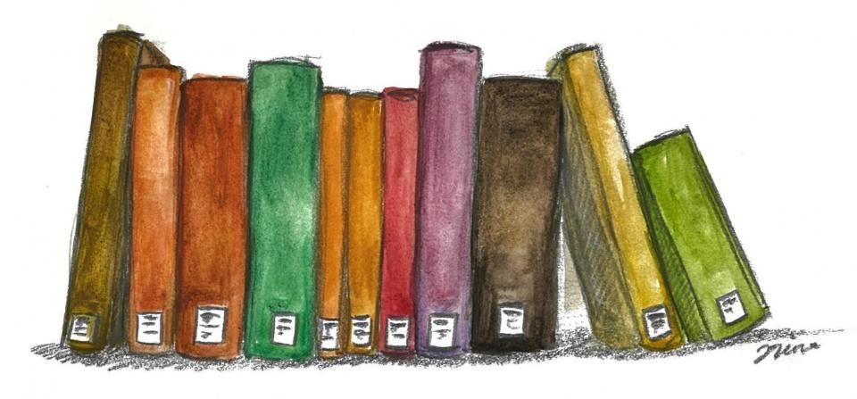 Kirjoja rivissä