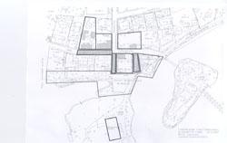 Linnankadun alueen kartta
