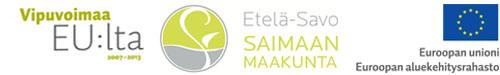 Logot Vipuvoimaa EU_lta, Etelä-savon maakunta; euroopan aluekehitysrahasto